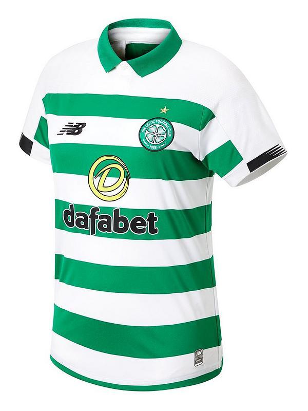bf7e771c30906 New Balance Celtic FC Mens 19/20 Home Short Sleeved Shirt - Green/White |  very.co.uk