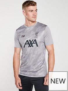 d815f82c401a4 New Balance New Balance Liverpool Fc Mens 19/20 Off Pitch Tee