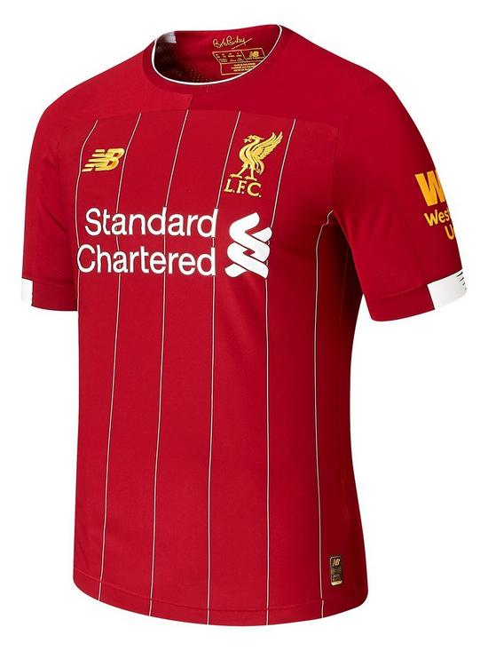 bf5413b69790f New Balance New Balance Liverpool Fc Mens Elite 19/20 Home Short Sleeved  Shirt