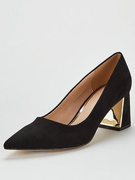 v-by-very-daska-point-block-heel-court-shoes-black
