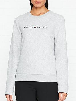 tommy-hilfiger-corp-logo-crew-neck-sweatshirt-grey