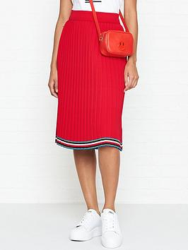 tommy-hilfiger-jessahnbsppleated-knit-midi-skirt-red