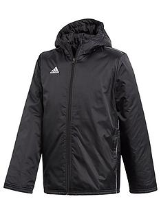 adidas-youth-core-stadium-jacket-black