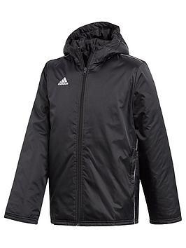 adidas-youth-core-stadium-jacket-black