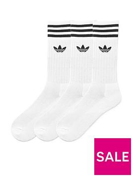 adidas-originals-solid-crew-3-pack-socks-white