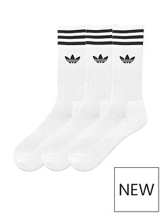 adidas-originals-solid-crew-3-pack-socks