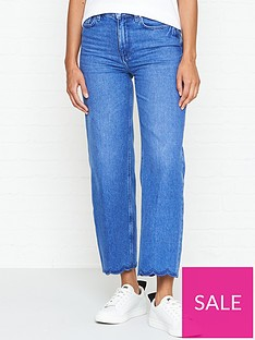 tommy-hilfiger-gramercy-high-waisted-wide-leg-cropped-mom-jeans-blue