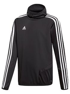 adidas-youth-tiro-3-stripe-hooded-jacket-black
