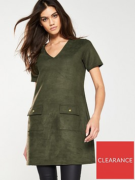 v-by-very-faux-suede-tunic-khaki