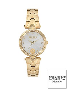 versus-versace-versus-versace-white-sunray-with-medusa-and-crystal-set-dial-gold-stainless-steel-bracelet-ladies-watch