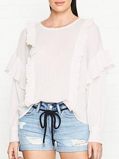 allsaints-isa-long-sleeve-ruffle-blouse-white