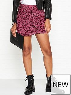allsaints-rylie-roar-leopard-print-skirt-pink