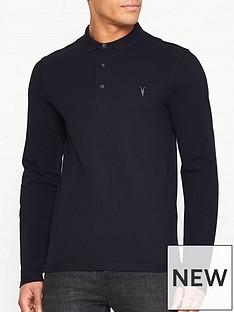 allsaints-reform-long-sleeve-polo-shirt-navy