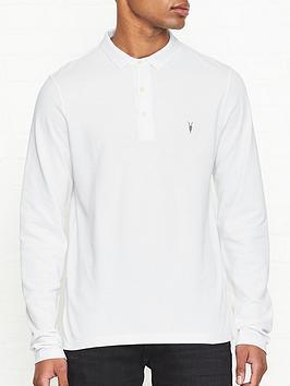 allsaints-reform-long-sleeve-polo-shirt-white