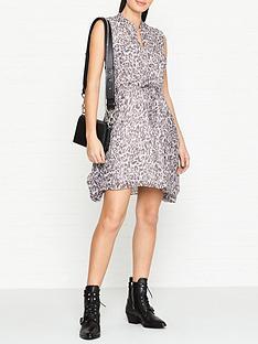 allsaints-clari-kara-leopard-print-dress-pink