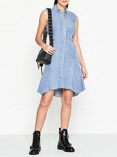 allsaints-franics-denim-dress-indigo