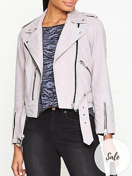 allsaints-balfern-suede-biker-jacket-lilac