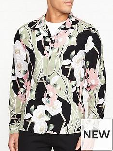 allsaints-fuji-floral-print-shirt-black