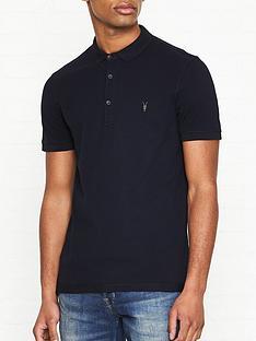 10b345d87f939 AllSaints Reform Polo Shirt - Ink Navy