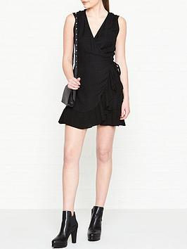 allsaints-krystal-wrap-dress-black