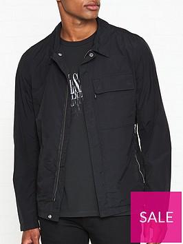 allsaints-collared-overshirtnbspjacket-black
