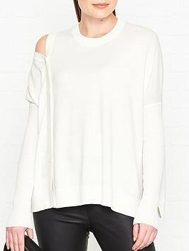 allsaints-ria-button-detail-jumper-white