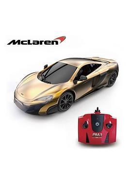 124-scale-mclaren-gold-24ghz-remote-control-car