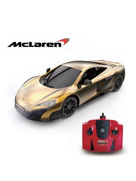 1 24 Scale Mclaren Gold 2 4ghz Remote Control Car Very Co Uk