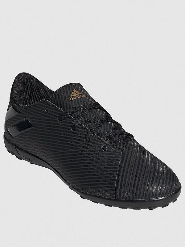 Junior Nemeziz 19.4 Astro Turf Football Boots Black