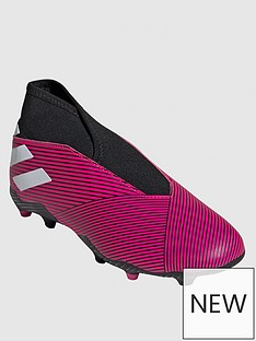 b8a1e051 adidas Adidas Junior Nemeziz Laceless 19.3 Firm Ground Football Boot