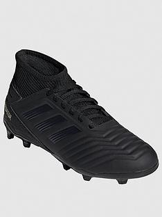 8fda2633 adidas Junior Predator 19.3 Firm Ground Football Boots - Black