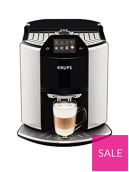 krups-ea907d40-baristanbspnew-age-automatic-espresso-been-to-cup-coffee-machine--nbspstainless-steel