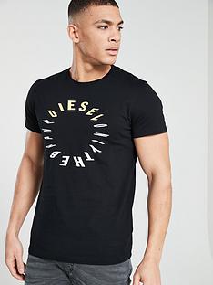 diesel-circle-print-t-shirt-black