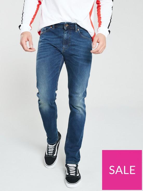 20572a57 DIESEL Thommer Slim Fit Jean - Dark Wash   very.co.uk
