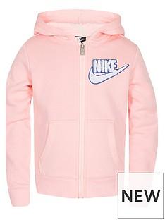 nike-girls-fleece-lurex-hoody-fz