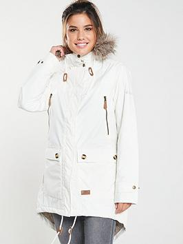 trespass-clea-parka-off-whitenbsp