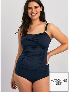 evans-essentials-high-waist-bikini-bottoms-navy