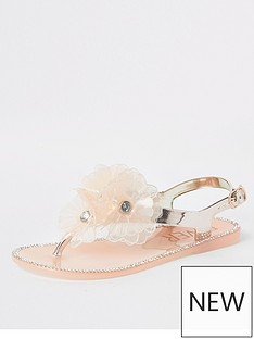 river-island-girls-floral-jelly-sandals-gold
