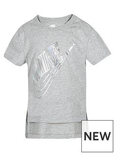 nike-girls-nsw-hi-lo-t-shirt-grey
