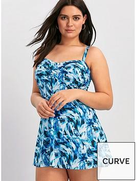 evans-water-ripple-twist-swimdress-blue