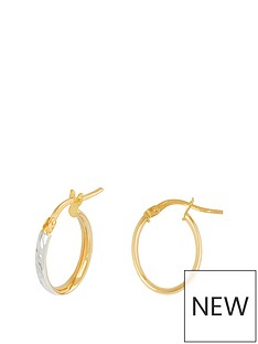 love-gold-9ct-gold-23mm-diamond-cut-oval-tube-hoop-earrings-with-rhodium-plated-edge