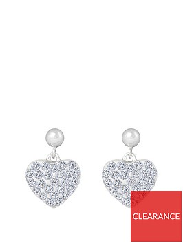 the-love-silver-collection-sterling-silver-heart-pave-crystal-drop-earrings
