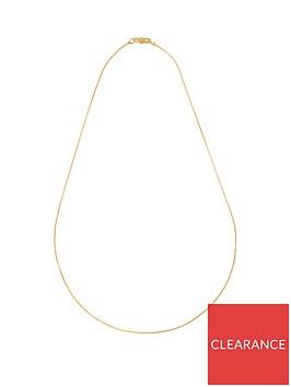 love-gold-9ct-gold-diamond-cut-spiga-chain-necklace