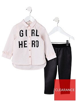 river-island-mini-mini-girls-girl-hero-shirt-outfit-pink