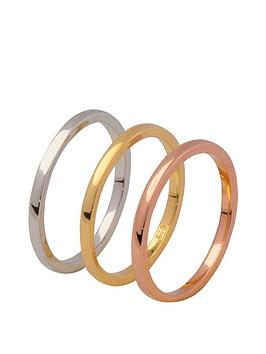 the-love-silver-collection-gold-plated-sterling-silver-set-of-3-polished-stacking-rings