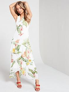 warehouse-havana-print-occasion-dress
