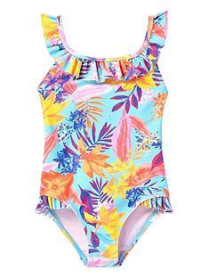 river-island-mini-mini-girls-tropical-frill-swimsuit-blue
