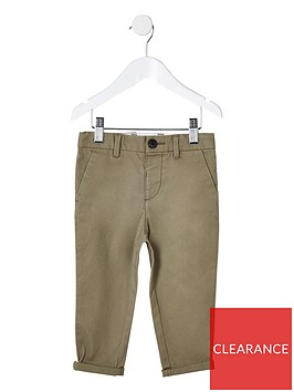 river-island-mini-mini-boys-slim-fit-pipe-smart-trousers-green