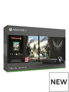 xbox-one-x-division-2-1tb-console-bundle