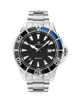 accurist-accurist-black-sunray-and-silver-detail-date-dial-stainless-steel-bracelet-mens-divers-watch